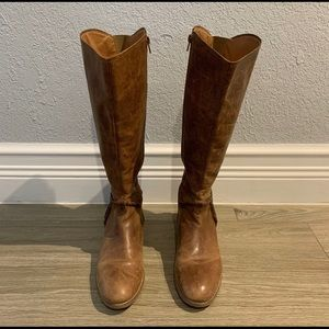 Tall Leather Boots (Size 10M)